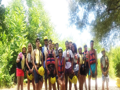 River Rafting family tours in Slovenia
