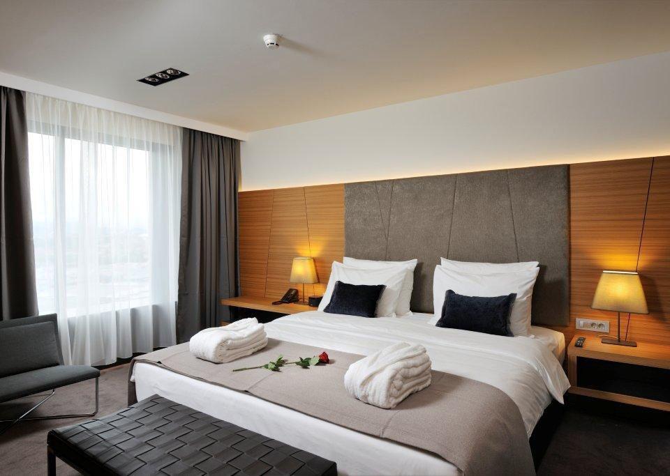 Radisson Plaza hotel room