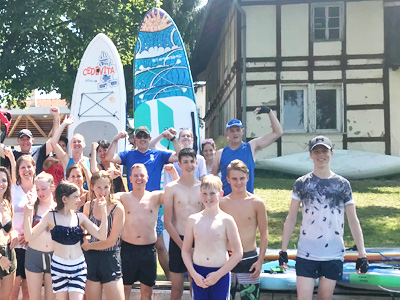 Ljubljana SUP tours for families