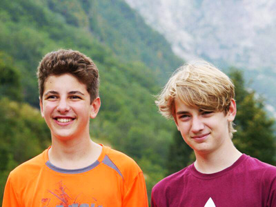 teenage cycling and family tours