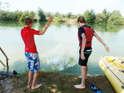 canoe family tours in Slovenia