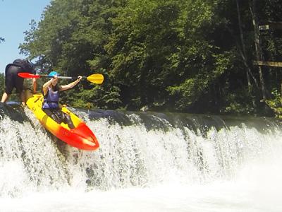 Kayaking tours Ljubljana